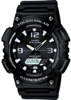 Casio Standard Collection Tough Solar 100m Analog and Digital Watch - Black