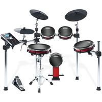 Alesis Crimson Mesh 5-Piece Electronic Drum Kit With Mesh Heads
