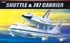 Academy - 1/288 - Boeing 747 + Shuttle (Plastic Model Kit)
