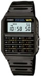 Casio Databank WR Digital Watch with 8-Digit Calculator - Black