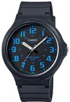 Casio Standard Collection 50m WR Analog Watch - Black and Blue