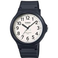 Casio Standard Collection 50m WR Analog Watch - Black and Cream