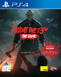 Friday the 13th: The Game (PS4) - Cover