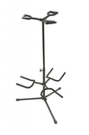 On-Stage GS7321BT Deluxe Folding Triple Guitar Stand (Black)
