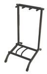 On-Stage GS7361 3-Space Foldable Multi Guitar Rack Stand (Black)