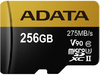ADATA - Premier ONE V90 256GB miCroSDXC with SDXC adapter Memory Card