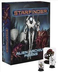 Starfinder: Alien Archive Pawn Box (Roleplaying Game) - Cover