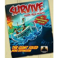 Survive: Escape from Atlantis! The Giant Squid Mini Expansion (Board Game)