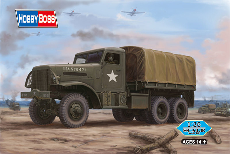 Hobbyboss 1:35 - US White 666 Cargo (Hard Top) (Plastic Model Kit)