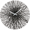 Koziol - Wall Clock- Silk - Black