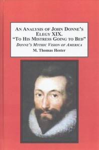 to his mistress going to bed john donne