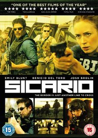 Sicario (DVD) - Cover