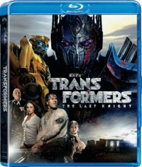 Transformers : The Last Knight (Blu-ray) - Cover