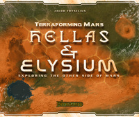 Terraforming Mars: Hellas & Elysium Expansion (Board Game) - Cover