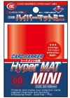Card Barrier Hyper Mat Mini Red (Cards)