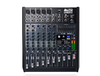 Alto Professional Live802 Live Series 8 Channel 2 Bus USB Mixer (Black)