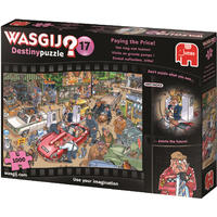 Wasgij - Destiny 17: Paying the Price! Puzzle (1000 Pieces)