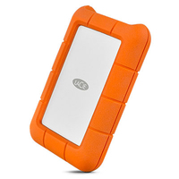 LaCie Rugged USB-C 2TB Mobile External Hard Drive - Cover