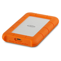 LaCie Rugged USB-C 4TB Mobile External Hard Drive - Cover