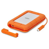 LaCie Rugged Thunderbolt & USB-C - 4TB Mobile External Hard Drive - Cover