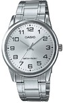 Casio Standard Collection WR Analog Watch - Silver