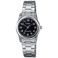 Casio Standard Collection WR Analog Watch - Silver and Black