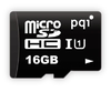 PQI 16GB MicroSD UHS-I Class10 - With Adapter