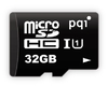 PQI 32GB MicroSD UHS-I Class10 - With Adapter