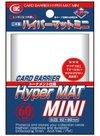 Card Barrier Hyper Mat Mini Clear (Cards)