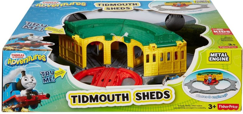 Fisher-Price - Thomas & Friends Adventures: Tidmouth Station Deluxe ...