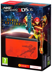 New Nintendo 3DS XL Handheld Console - Samus Edition (Excludes AC Power Adapter) - Cover
