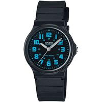 Casio Standard Collection WR Analog Watch - Black and Blue
