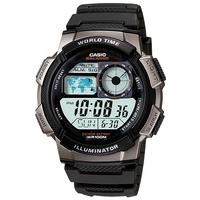 Casio Standard Collection 100m WR Digital Watch - Black and Grey