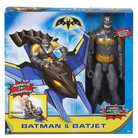 Batman Unlimited - Flight Mission Batman and Batjet Figure 30cm