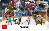 The Champions Amiibo - The Legend of Zelda: Breath of the Wild Collection (For 3DS/Wii U/Switch) - Cover