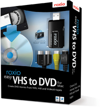 Roxio Easy VHS to DVD For Mac - Cover