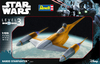 Revell 1:109 - Star Wars Naboo Starfighter (Plastic Model Kit) Cover