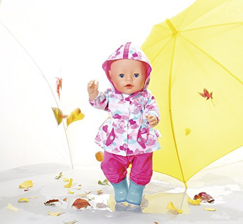 2f127010d Baby Born - Deluxe Fun In the Rain  Doll Clothing Set - Hobbies ...