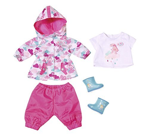 fe7a57d2728 Baby Born - Deluxe Fun In the Rain: Doll Clothing Set