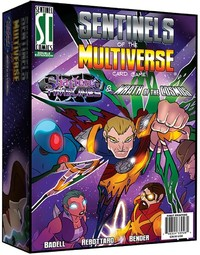 Sentinels of the Multiverse: Shattered Timeline/Wrath Ot Cosmos (Card Game) - Cover