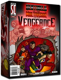 Sentinels of the Multiverse: Vengeance (Card Game) - Cover