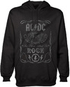 AC/DC - Cannon Swig Mens Pullover Hoodie - Black (Large)