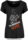 AC/DC - Jailbreak Ladies Scoop Neck T-Shirt - Black (Medium)