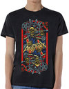 Anthrax - Evil King Men's Black T-Shirt - Black (Large)