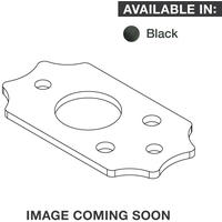 Graphtech Ratio InvisoMatch Premium Mounting Plate for Gibson Screw Hole (Black)