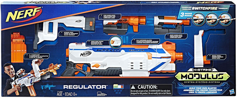 NERF - Modulus Regulator Gun
