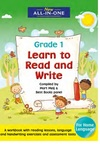 New All-In-One Learn to Read and Write For Grade 1 (Paperback)