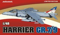 Eduard Kit 1:48 Limited Edition - Harrier GR.7/9 (Plastic Model Kit) - Cover