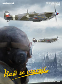 Eduard Kit 1:72 Limited Edition - Spitfire Mk.IX Naši se vracejí (Plastic Model Kit) - Cover