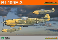 Eduard Kit 1:32 Profipack - Bf 109E-3 (Plastic Model Kit) - Cover